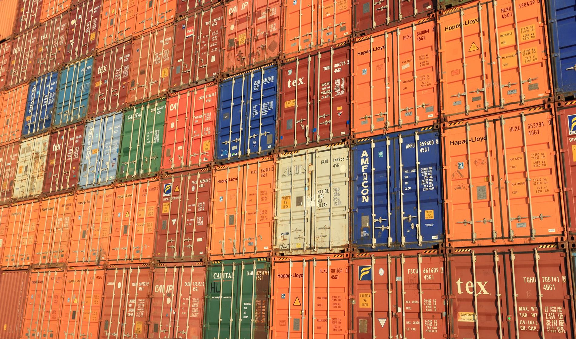 How the cargo ship food look like on trip